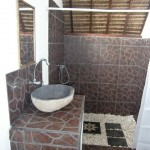 Bathroom Lumbung bungalow